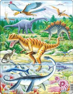 Jurassic Dinosaur Dinosaurs Children's Puzzles