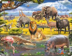 Savanah Animals Children's Puzzles
