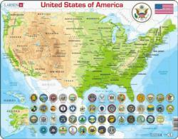 United States Map United States Children's Puzzles