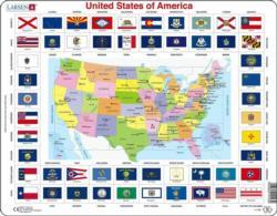 United States Of America Flag United States Children's Puzzles