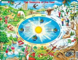 Seasons Of The Year Educational Children's Puzzles