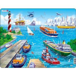 Harbor Puzzle Boats Children's Puzzles