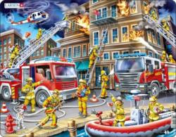 Firefighters Vehicles Children's Puzzles