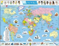 Political Puzzle Maps / Geography Children's Puzzles