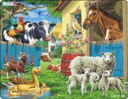Farm Animals Farm Animals Children's Puzzles