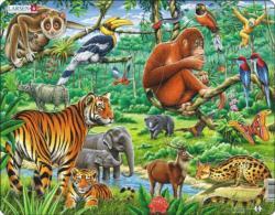 Jungle Jungle Animals Children's Puzzles