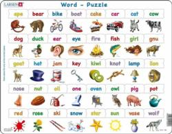 Word Puzzle Alphabet/Numbers Children's Puzzles
