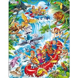 Rafting The Amazons Lakes / Rivers / Streams Children's Puzzles