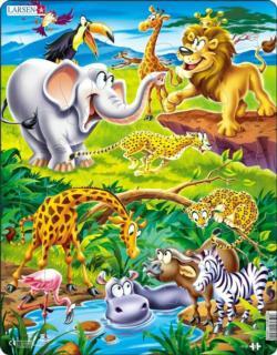 Safari Puzzle Lions Children's Puzzles