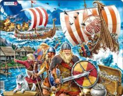 Viking Raid Europe Children's Puzzles