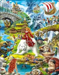 Fairytales Princess Children's Puzzles