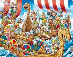 Larsen Vikings History Children's Puzzles