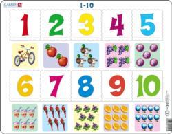 Math Puzzle Alphabet/Numbers Children's Puzzles