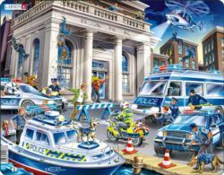 Police Vehicles Children's Puzzles