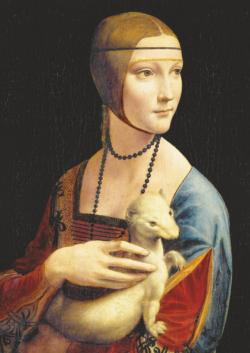 Lady With An Ermine People Jigsaw Puzzle