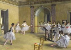 The Dance Foyer At The Opera - Scratch and Dent Dance Jigsaw Puzzle