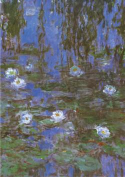 Water Lilies Fine Art Jigsaw Puzzle