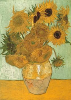 Sunflowers Sunflower Jigsaw Puzzle