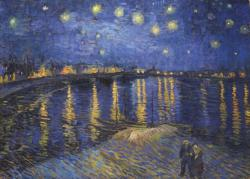 Starry Night Over The Rhone Van Gogh Starry Night Jigsaw Puzzle