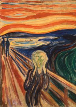 The Scream Fine Art Jigsaw Puzzle