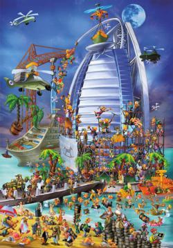 Burj Al Arab Jigsaw Puzzle