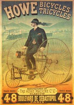 Howe Bicycles Tricycles Bicycles Jigsaw Puzzle