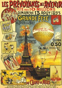 Les Prevoyants De L'Avenir Paris Jigsaw Puzzle