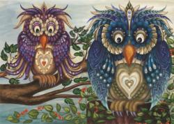 Fancy Owls Owl Children's Puzzles