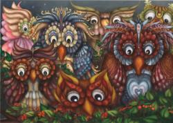 Close Owls Owl Children's Puzzles