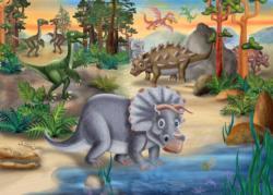 Triceratops Dinosaurs Children's Puzzles