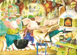The Three Little Pigs Children's Puzzles