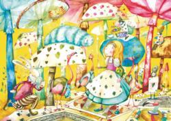 Alice In Wonderland Movies / Books / TV Children's Puzzles