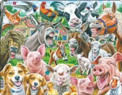 Happy Farm Farm Animals Children's Puzzles