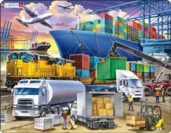 Transport Vehicles Children's Puzzles