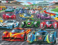 Speed Racer Vehicles Children's Puzzles
