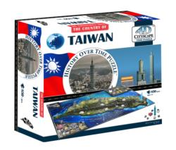 Taiwan 4D Cityscape Asia Shaped