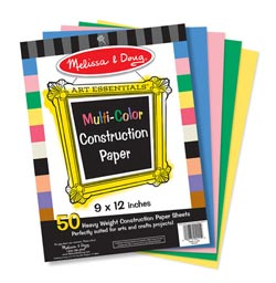 Multi-Color Construction Paper Arts and Crafts