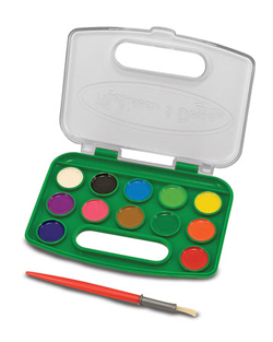 Take-Along Watercolor Paint Set Arts and Crafts