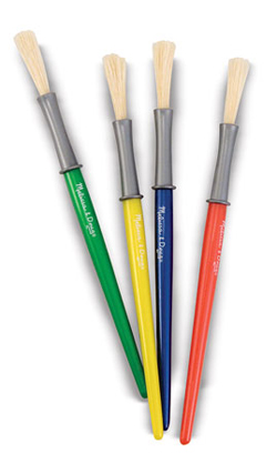 Medium Paint Brushes
