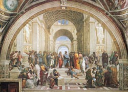 School of Athens Churches Jigsaw Puzzle