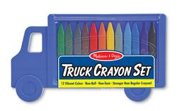 Truck Crayon Set Children's Coloring Books - Pads - or Puzzles
