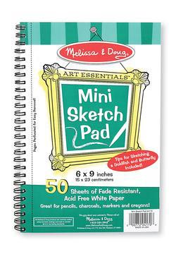 Mini-Sketch Pad Arts and Crafts