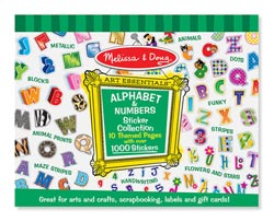 Sticker Collection - Alphabet & Numbers Activity Books and Stickers