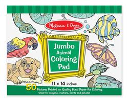 Animal (Jumbo Coloring Pad) Other Animals Arts and Crafts