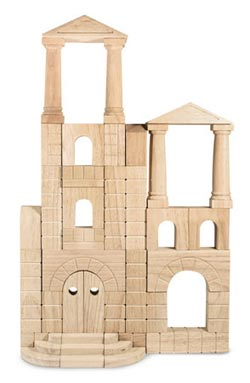 Architectural Unit Blocks Wooden
