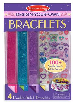 Design-Your-Own Bracelets Activity Books and Stickers
