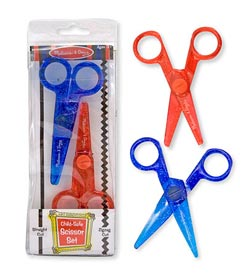 Child-Safe Scissor Set Arts and Crafts
