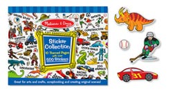 Sticker Collection - Blue Activity Books and Stickers