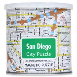 City Magnetic Puzzle San Diego Cities Magnetic Puzzle