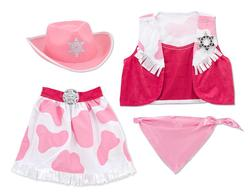 Cowgirl Role Play Set Pretend Play Toy